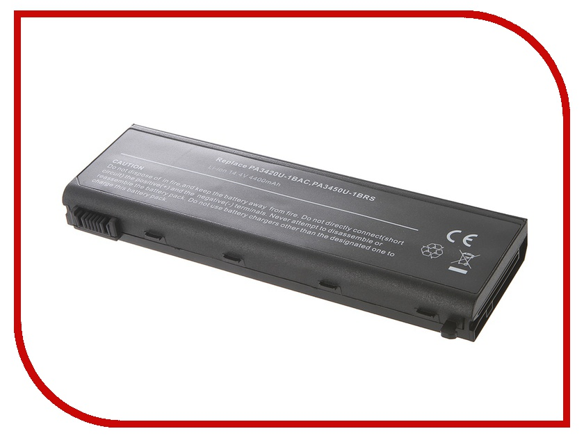 Аккумулятор Tempo LPB-PA3450 14.8V 4400mAh for Toshiba Satellite L10/L15/L20/L25/L30/L35/L100 Tecra/L2