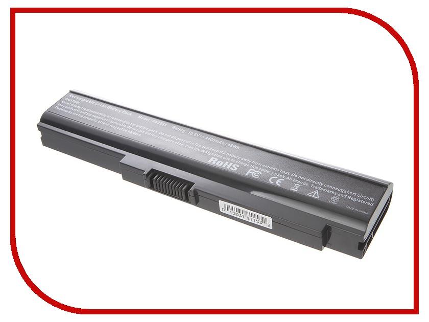 Аккумулятор Tempo LPB-PA3595 10.8V 4400mAh for Toshiba Satellite U300/U305 Portege/M600 Tecra/M8 Series аккумулятор tempo lpb s10 11 1v 4400mah for lenovo ideapad s9e s10e s10 1 s12 series