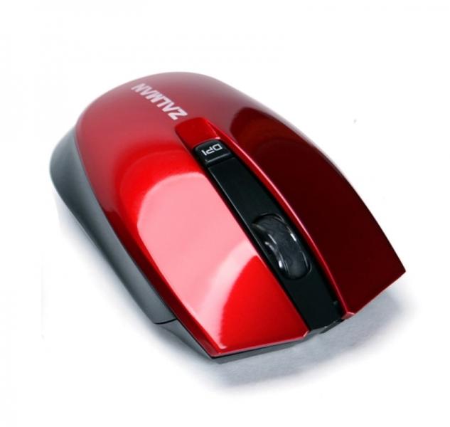 Мышь беспроводная Zalman ZM-M520W Red<br>