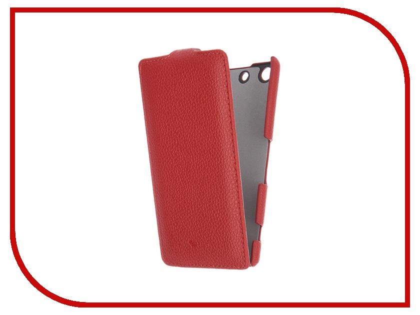 Аксессуар Чехол Sony Xperia M5/M5 Dual Sipo Red 8134