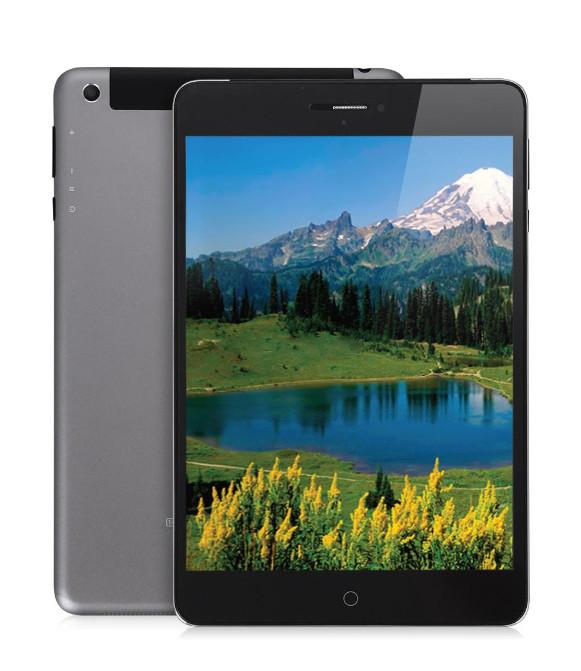 Планшет Ginzzu GT-W853 Grey Intel Atom C3230 1.0 GHz/1024Mb/8Gb/Wi-Fi/3G/Bluetooth/GPS/Cam/7.85/1024x768/Android<br>