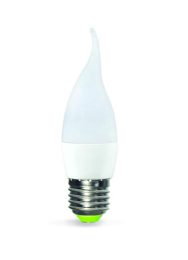 Лампочка ASD LED Свеча на ветру Standard E27 7.5W 4000K 160-260V 4690612004587 лампочка asd led шар standard e27 3 5w 4000k 160 260v 4690612002040