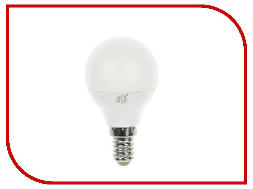 Лампочка ASD LED Шар Standard E14 7.5W 3000K 160-260V 4690612003962 лампочка asd led свеча на ветру standard 7 5w 4000k 160 260v e14 4690612004563