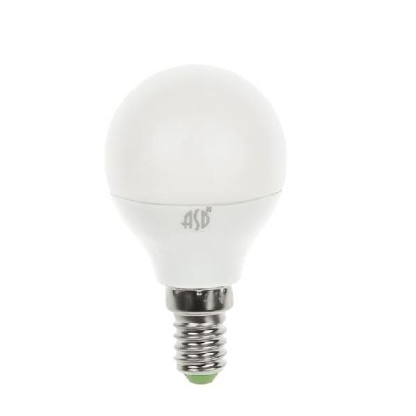 купить Лампочка ASD LED Шар Standard E14 7.5W 3000K 160-260V 4690612003962 по цене 77 рублей