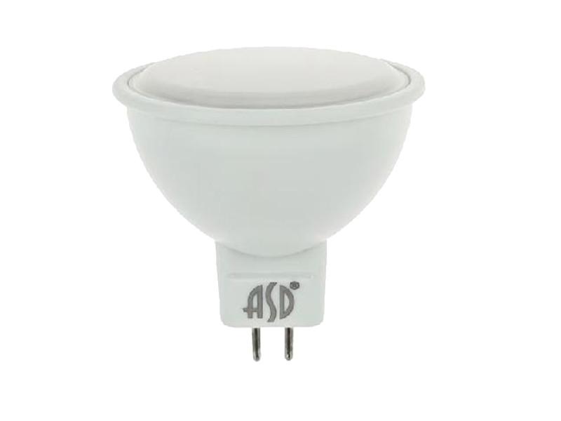 Лампочка ASD LED-JCDR-Standard GU5.3 7.5W 4000K 160-260V 4690612001456 лампочка asd led шар standard e27 3 5w 4000k 160 260v 4690612002040