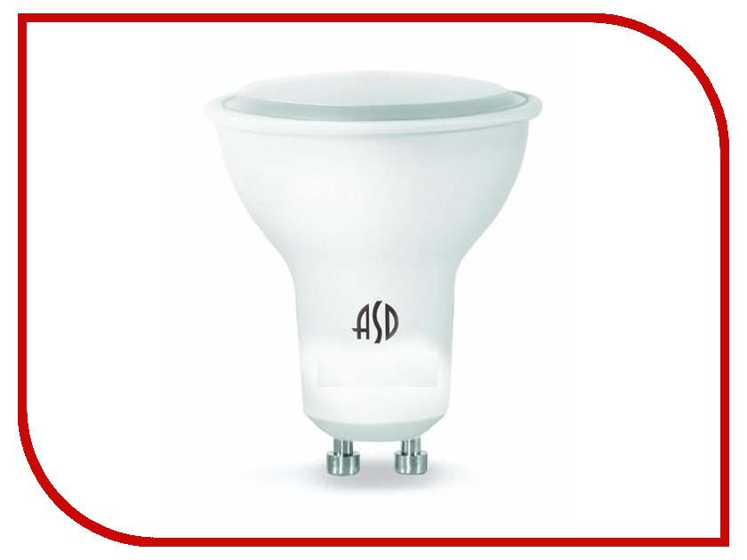 Лампочка ASD LED-JCDR-Standard 3W 3000K 160-260V GU10 4690612004815 светильник asd nrlp eco 1445 14w 160 260v 4000к white 4690612004365