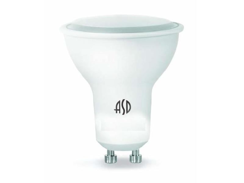 Лампочка ASD LED-JCDR-Standard GU10 3W 4000K 160-260V 4690612004822 лампочка asd led шар standard e27 3 5w 4000k 160 260v 4690612002040
