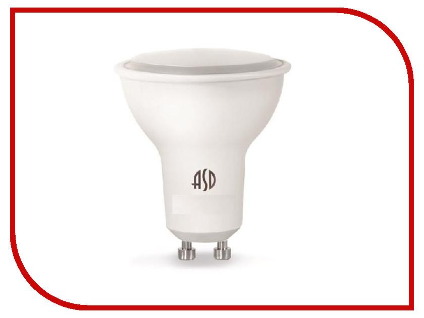 Лампочка ASD LED-JCDRC-Standard 5.5W 4000K 160-260V GU10 4690612002309 светильник asd спп 2402 12w 160 260v 4000k ip65 4690612003726