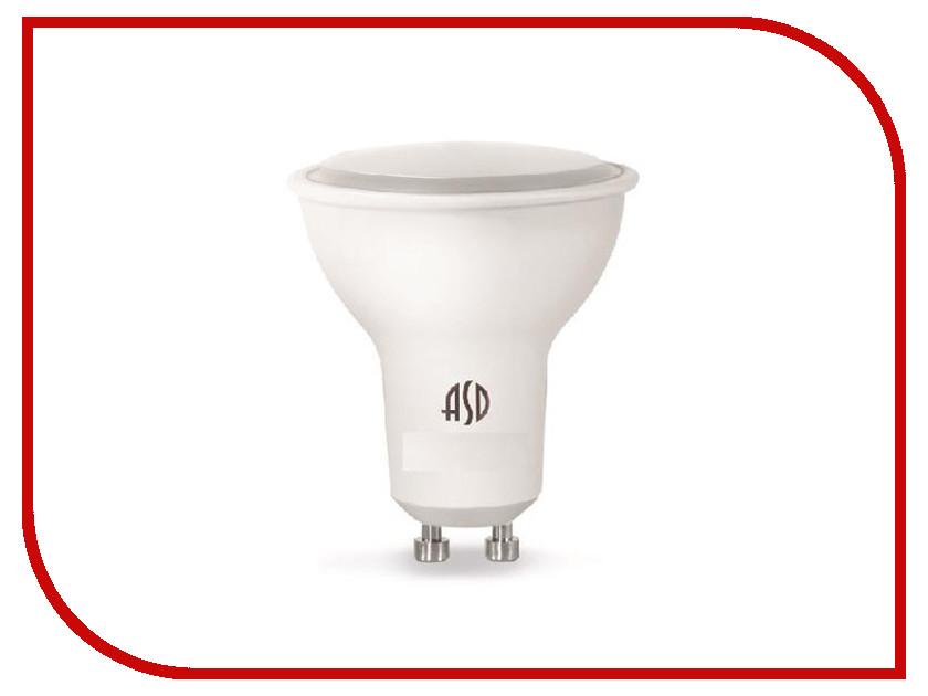 Лампочка ASD LED-JCDR-Standard 7.5W 4000K 160-260V GU10 4690612002323<br>