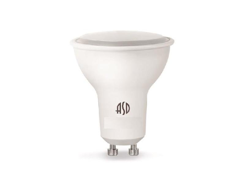 Лампочка ASD LED-JCDR-Standard GU10 7.5W 160-260V 4000K 675Lm 4690612002323 лампочка asd led jcdr standard 5 5w 3000k 160 260v gu5 3 4690612002262
