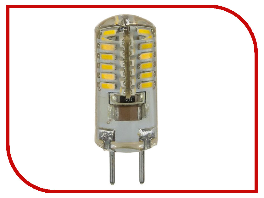 Лампочка ASD LED-JCD-Standard 2W 4000K 160-260V GY6.35 4690612003771 светильник asd спп 2402 12w 160 260v 4000k ip65 4690612003726