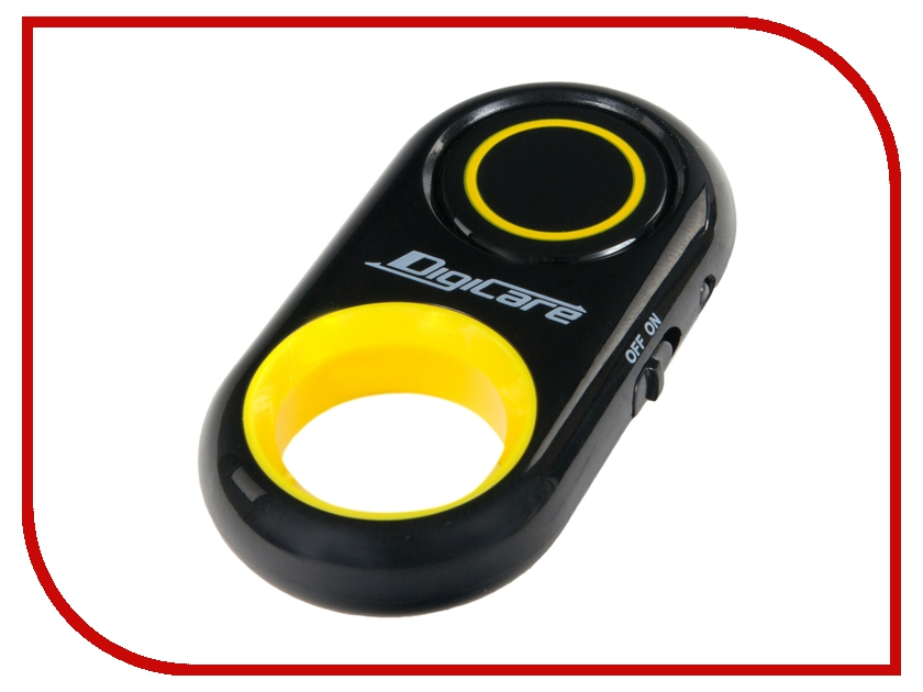 Bluetooth кнопка DigiCare Shutter 6 Black-Yellow multifunctional bluetooth gamepad and selfie remote shutter black