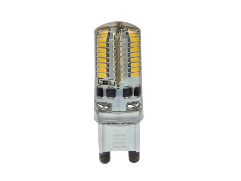 Лампочка ASD LED-JCD-Standard G9 5W 160-260V 3000K 450Lm 4690612004594 лампочка asd led jcdr standard 5 5w 3000k 160 260v gu5 3 4690612002262