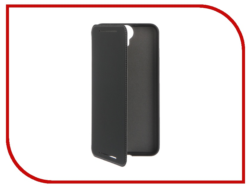 Аксессуар Чехол HTC One E9+ HC C1130 Leather Black HTC-99H11946-00 htc 728g цена