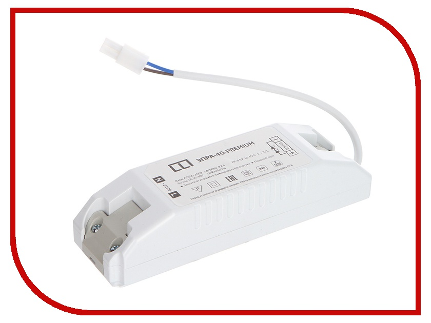 Блок питания ASD ЭПРА-Premium для панели светодиодной LP-02 4690612004006<br>