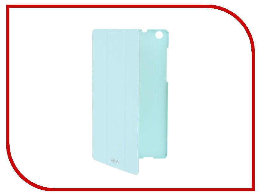 Аксессуар Чехол-книжка ASUS ZenPad C 7.0 Z170C/Z170CG TriCover Blue 90XB015P-BSL380 protect защитная пленка для asus zenpad c 7 0 z170cg матовая