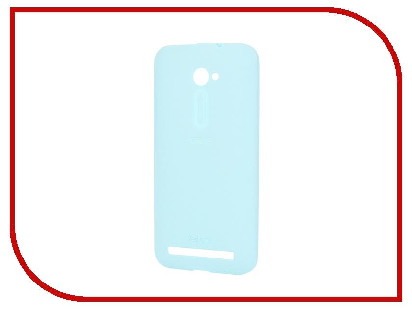 Аксессуар Чехол-бампер ASUS ZenFone 2 Bumper Case ZE500CL Blue 90XB00RA-BSL2V0