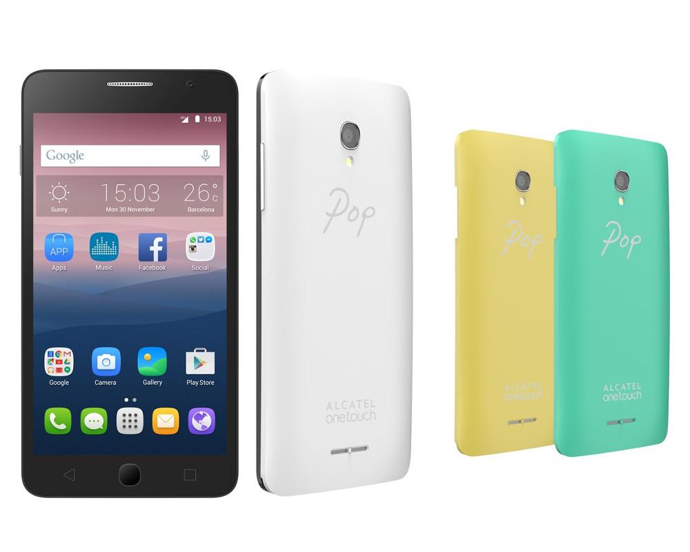 Сотовый телефон Alcatel OneTouch 5022D POP Star White Yellow Green<br>