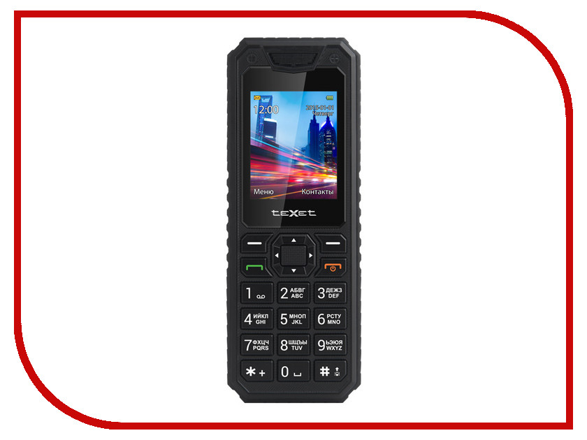 Сотовый телефон teXet TM-D302 Black