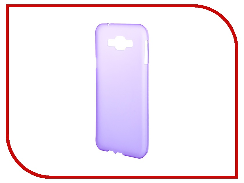 Аксессуар Чехол-накладка Samsung Galaxy A8 A800F Gecko Purple DS-GM-SGA8-VIO