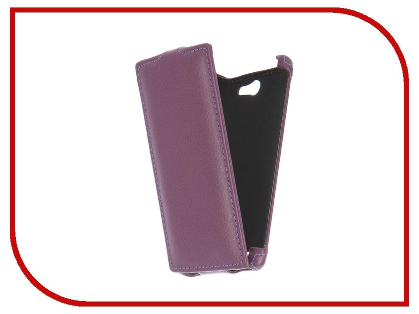 Аксессуар Чехол-флип Philips S309 Gecko Purple GG-F-PHS309-VIO