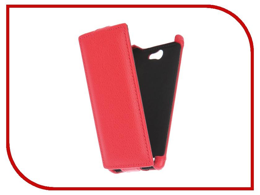 Аксессуар Чехол-флип Philips S309 Gecko Red GG-F-PHS309-RED<br>