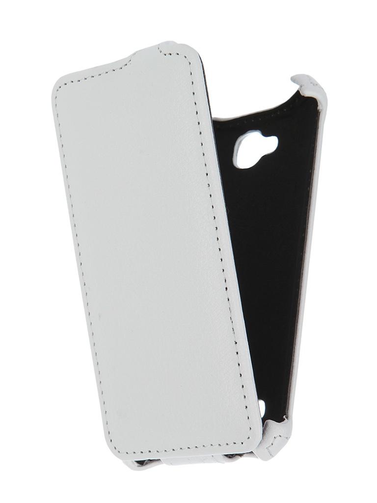 Аксессуар Чехол-флип Micromax Q324 Bolt Gecko White GG-F-MICQ324-WH<br>