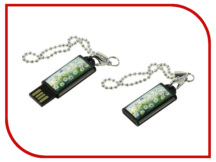 USB Flash Drive 32Gb - Iconik Ромашки MTFF-CHAMLE-32GB usb flash drive 32gb iconik фортепиано silver mtf piano 32gb