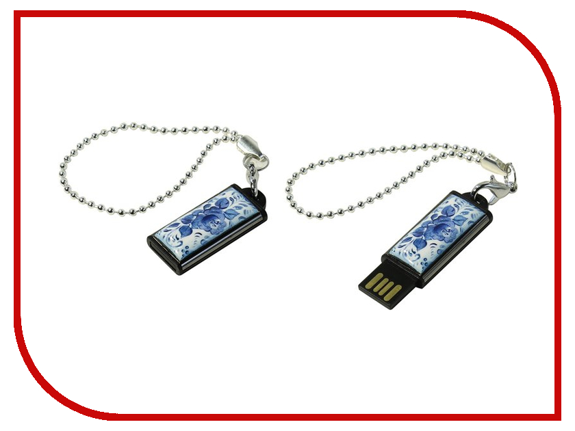 USB Flash Drive 32Gb - Iconik Гжель MTFF-GZEL-32GB<br>