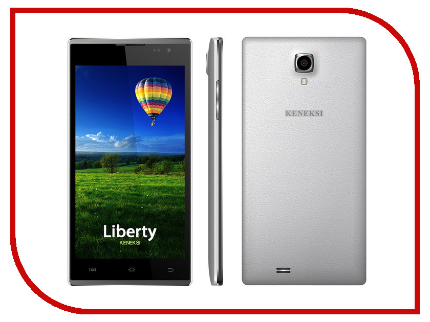 Сотовый телефон KENEKSI Liberty White<br>