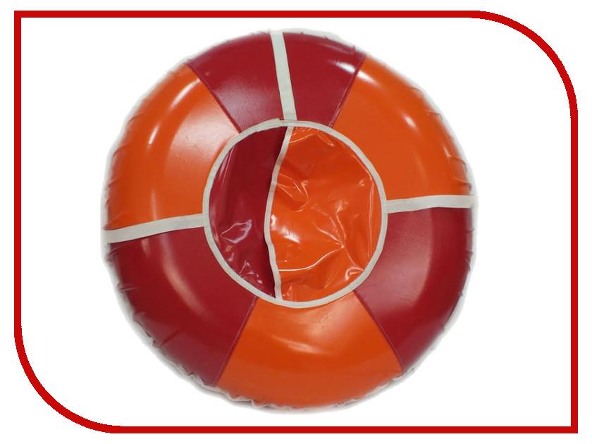 Тюбинг Кедр плюс санки-ватрушки 110см Orange-Red