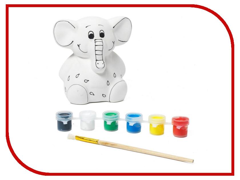 Набор Bondibon Слоненок BB0980 серьги лемпворк слоненок