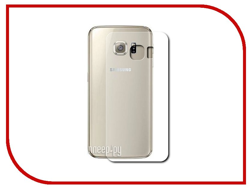 Аксессуар Защитная пленка Samsung G928F Galaxy S6 Edge+ Ainy задняя матовая