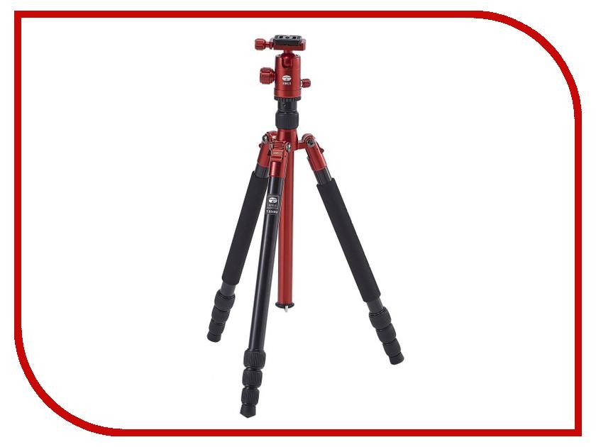 Штатив Sirui T-004RX+C10X Red