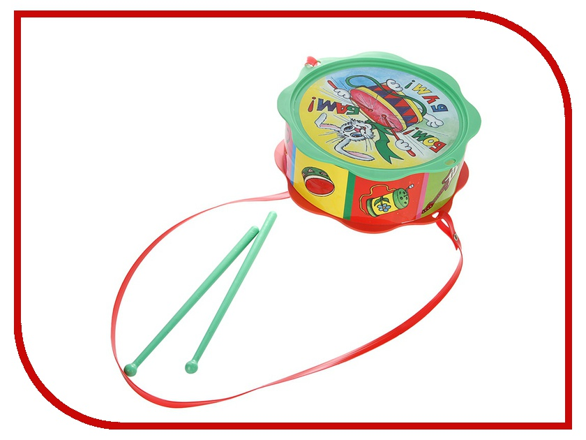 Игрушка ТулИгрушка Барабан Малышок С2-4<br>