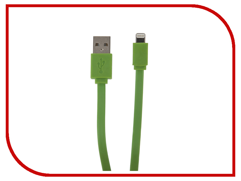 Аксессуар Onext Premium USB to Lightning 8pin 1m Green 60240<br>