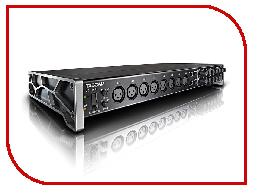 Аудиоинтерфейс Tascam US-16x08 аудиоинтерфейс tascam us 16x08