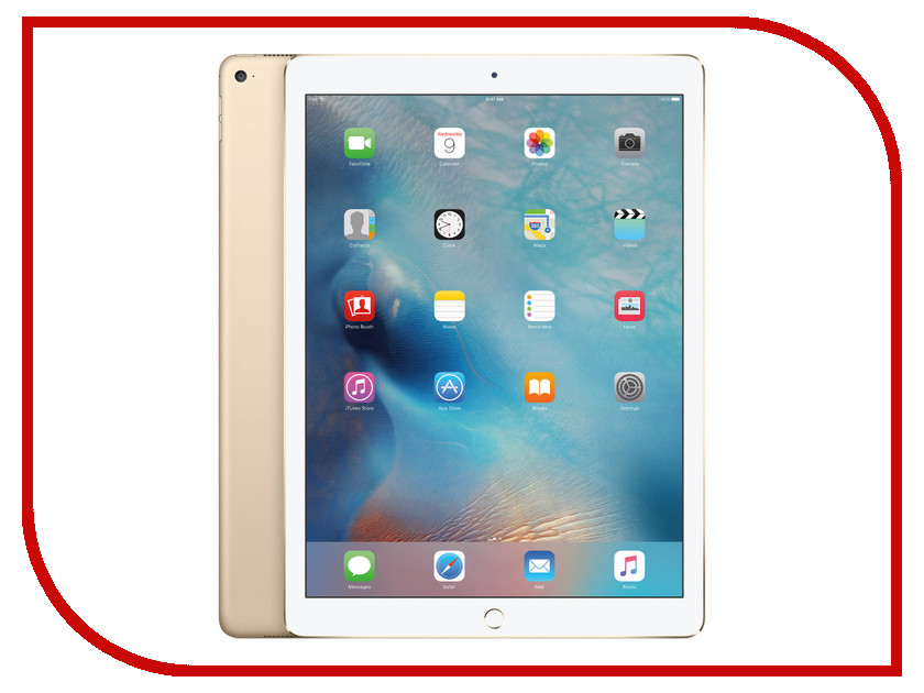Планшет APPLE iPad Pro 12.9 32Gb Wi-Fi Gold ML0H2RU/A планшет apple ipad wi fi 32gb gold золотой 9 7 retina display air 2 apple
