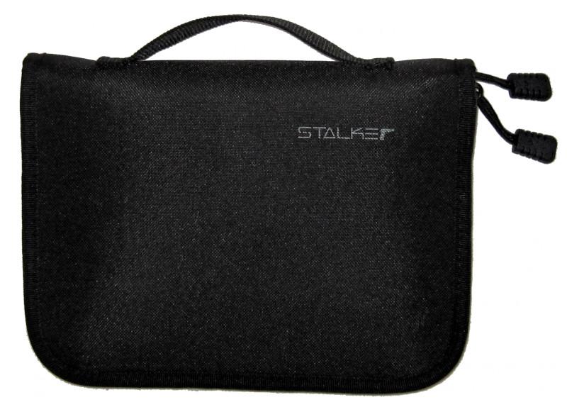 Кобура Stalker универсальная сумка для пистолетов с отделениями для баллонов CO2 Black от Pleer