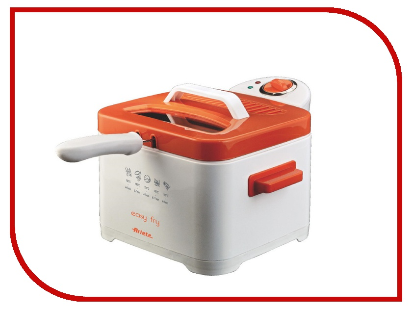 Фритюрница Ariete 4611 Easy Fry Orange
