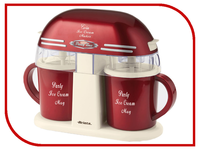 ���������� Ariete 631 Party Time Twin Ice Cream Maker