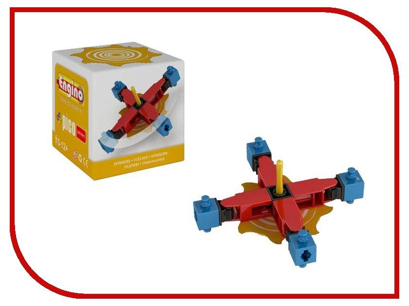 Игрушка Конструктор Engino PS02PICO Spinners Волчок Yellow