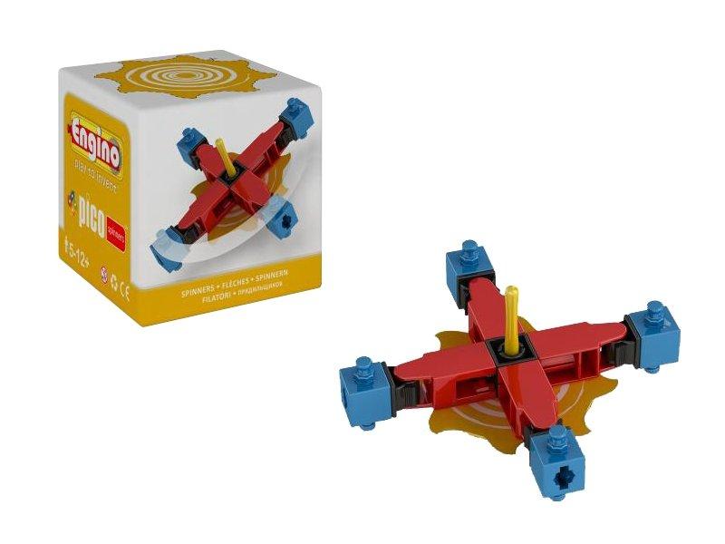 Конструктор Engino PS02PICO Spinners Волчок Yellow<br>