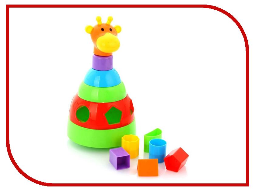 Игрушка УМКА Пирамидка Жираф 5038-R<br>