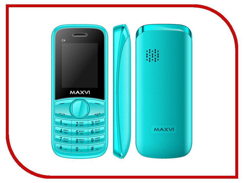 Сотовый телефон Maxvi C4 Blue