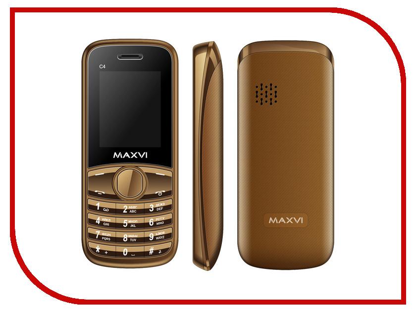 Сотовый телефон Maxvi C4 Brown