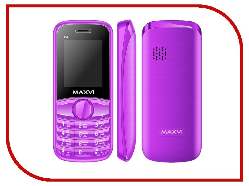 Сотовый телефон Maxvi C4 Purple