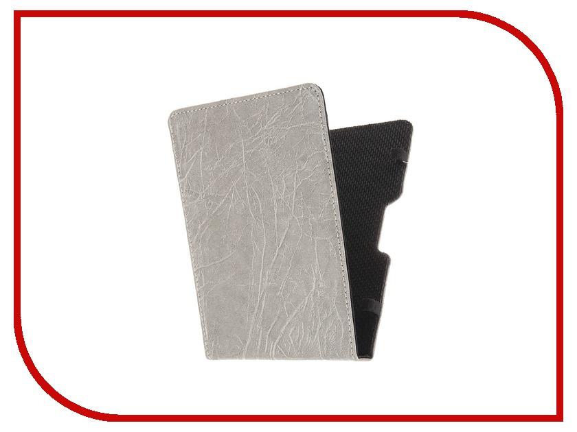 Аксессуар Чехол for PocketBook 630 Good Egg Lira Grey GE-PB630LIR2245 кожа