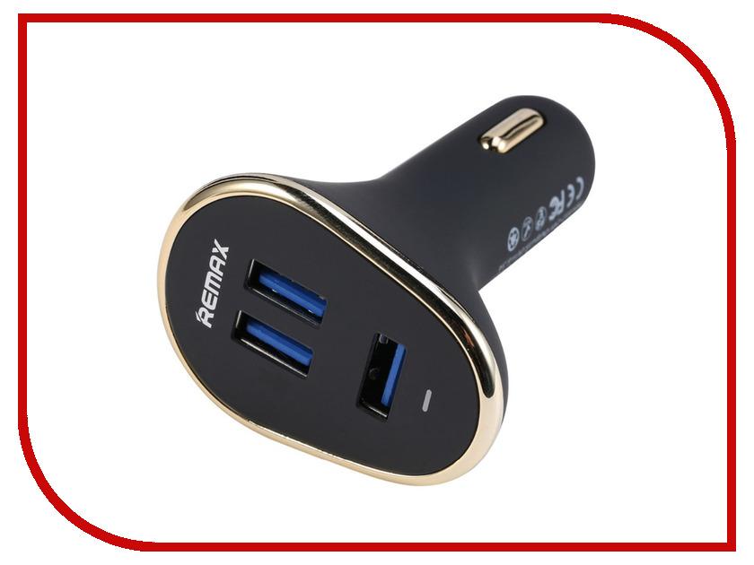 Зарядное устройство Remax 3x2.1A USB Black RM-000095<br>