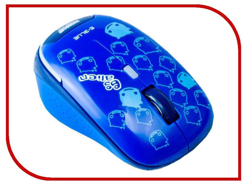 Мышь беспроводная E-Blue Monster Babe EMS103BL Blue